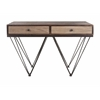Trendy Davena Console Table, dark brown