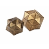Set of 2 Exceptional Anwell Deco Ball