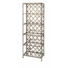 Chic Beth Kushnick Mirrored Shelf, Antique gold