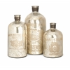 Wonderful Veneta Mercury Glass Jugs - Set of 3