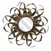 Bewitching Kalaiya Gold Leaf Wall Mirror, Antique Golden