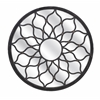 Alluring Round Shaped Maske Iron Mirror