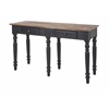 Ravishing Danica Console Table, Natural and black