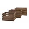 Fabulous Ainsley Wood Crates - Set of 3