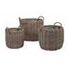 Mesmerizing Mellie Willow Baskets, Shades Of Brown, Set Of 3