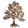 Amazing Gilded Tree Wall Decor, Golden Hue