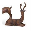 88482 Reindeer- Natural-Left, Natural Wood