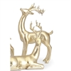 Reindeer- Gold -Right, Gold