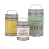 Dairy Barn Decorative Lidded Containers, Multicolor, Set Of 3