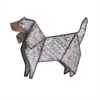 Dickens Galvanized Dog, Galvanized Gray