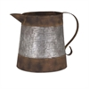 Draper Decorative Can, Rustic Brown