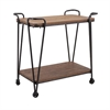 Austin Wood and Iron Table, Black