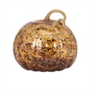 Tortoise Large Glass Pumpkin, Multicolor