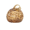 Tortoise Small Glass Pumpkin, Multicolor