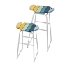 Lexie Bar Stools, Multicolor, Set Of 2