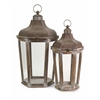 Extraordinary Layla Oversized Lanterns, Antique bronze, Set Of 2