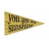 Bright Sunshine Pennant, Bright Yellow