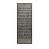 Enthralling Galvanized Inspirational Wall Art