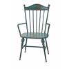 Vintage Westfield Metal Arm Chair, Blue