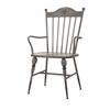 Durable Chatham Metal Arm Chair, Grey