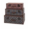 Splendid Ski Lodge Suitcases, Multicolored, Set Of 3