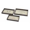 Amazing Blacktail Trays - Set of 3