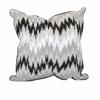 Snug Essentials Jazz Pillow, Black & Beige