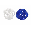 Astonishing Athens Oversized Glass Knots - Assorted 2, Blue and White