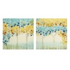 Adorable Forest Mosaic Acrylic Floating Wall Art - Assorted 2, Multicolor
