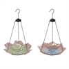 Formosa Glass Bird Feeders - Ast 2, Multicolor