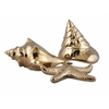 Shimmering Petra Gold Ceramic Shell - Ast 3, Gold