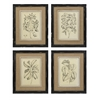 Chic Victoriana Wall Decor - Assorted 4, Beige, black