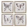 Beautiful Allurement Framed Oil Paintings - Assorted 4