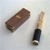 Benzara Fascinating Styled Antique Telescope With Wood Box