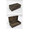 Benzara Pirate Chest - Antique Pirate Treasure Chest With Iron Inlaid