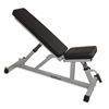 Valor Fitness Incline/Flat Utility Bench W/Wheels