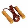 Valor Fitness Leather / Wood Jump Rope