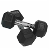 12 lb Rubber Hex Dumbbell (2)