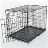 "42"" Single Door Folding Dog Crate By Pet Products-Large"