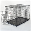 "36"" Double Door Folding Dog Crate By Pet Products-Medium"
