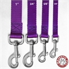 3/4in x 4ft Lead Purple By Pet Products