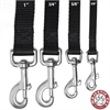 3/4in x 6ft Lead Black By Pet Products