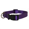 10in - 16in Adjustable Collar Purple, 10 - 45 lbs Dog By Pet Products