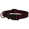 10in - 16in Adjustable Collar Burgundy, 10 - 45 lbs Dog By Pet Products