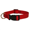10in - 16in Adjustable Collar Red, 10 - 45 lbs Dog By Pet Products