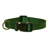 Majestic 10in - 16in Adjustable Collar Green, 10 - 45 lbs Dog By Majestic Pet Products