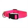 Majestic 10in - 16in Adjustable Collar Pink, 10 - 45 lbs Dog By Majestic Pet Products