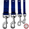 Majestic 5/8in x 6ft Lead Blue By Majestic Pet Products