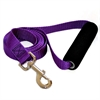 1in x 4ft Easy Grip Handle Leash Purple By Pet Products