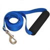 Majestic 1in x 4ft Easy Grip Handle Leash Blue By Majestic Pet Products